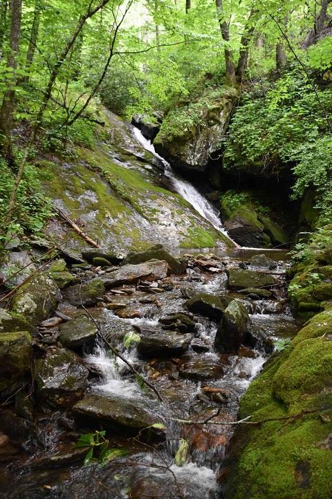 Little Andy Creek waterfall