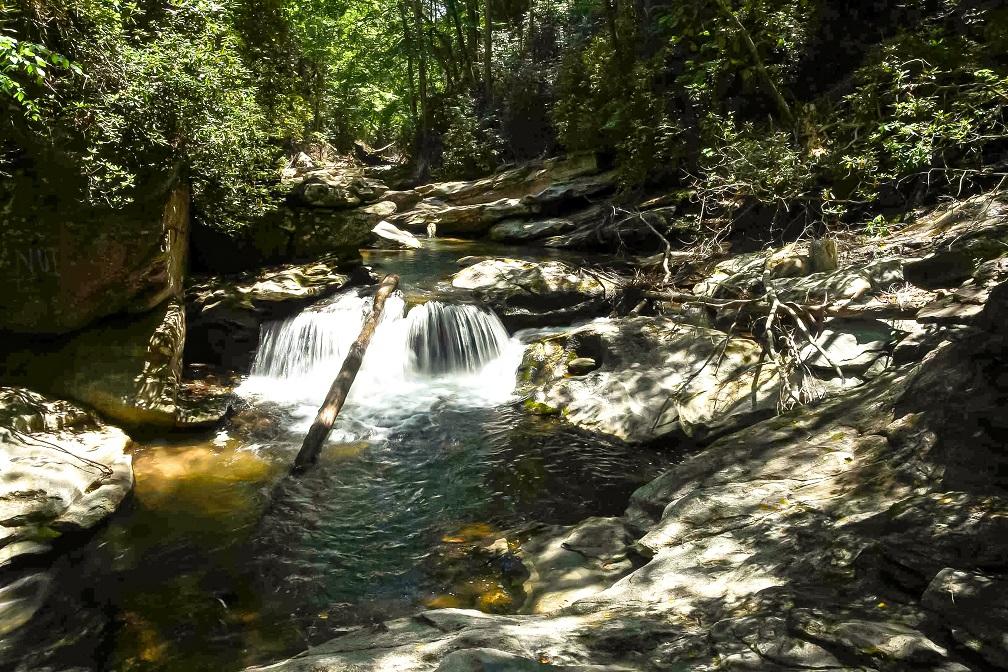 Start of Big Bradley Falls