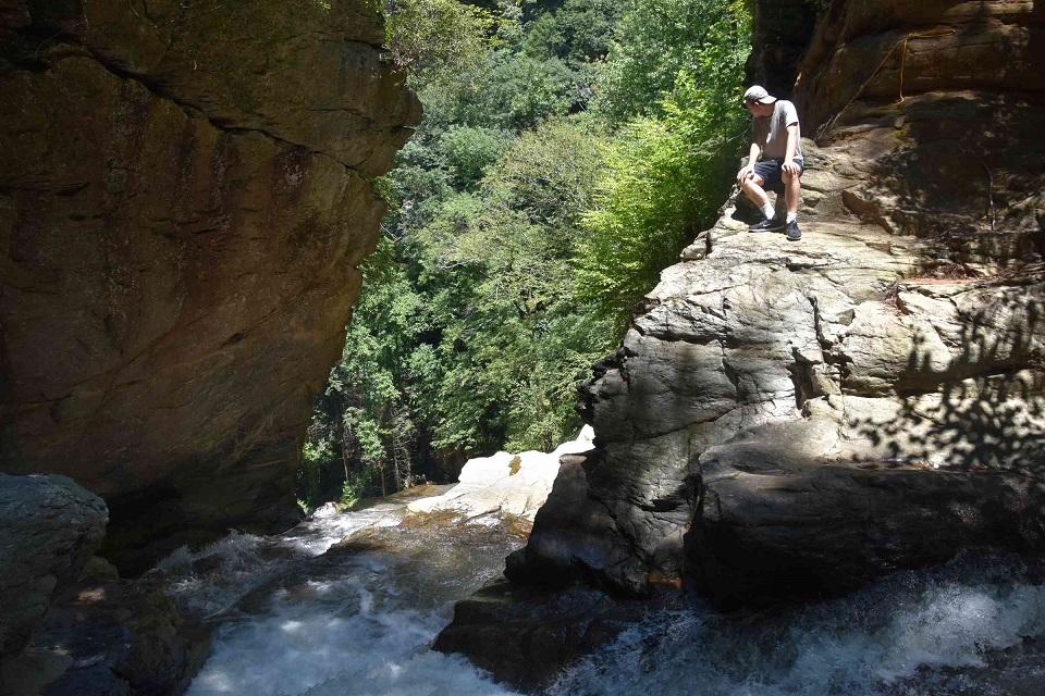 Top of Big Bradley Falls