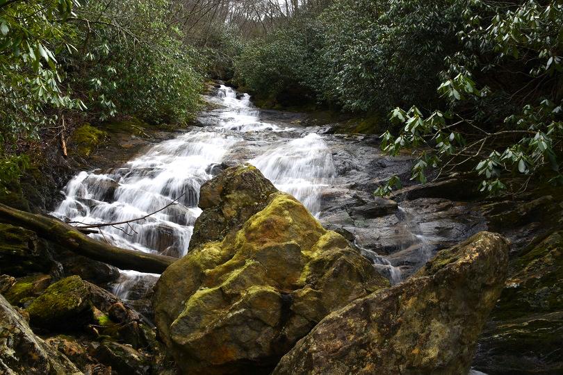Lower Sam Branch Falls